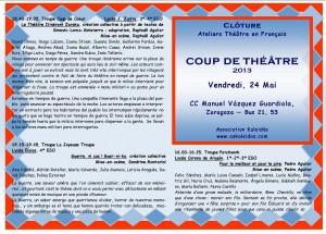 Clôture 2013 Dépliant recto